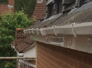 Loftplan Designs Limited can't even put guttering up properly